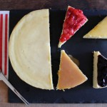 Le vrai cheesecake new-yorkais & ses toppings