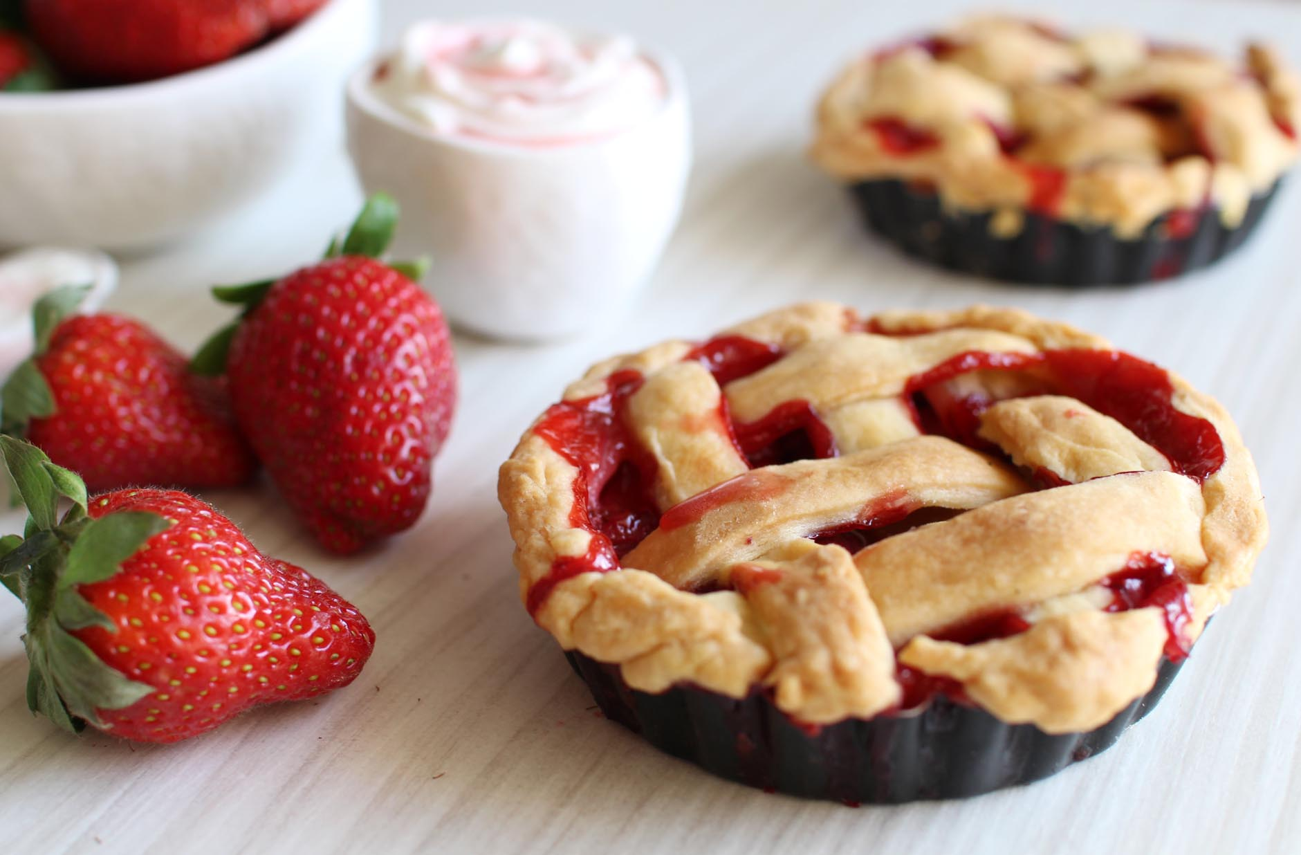 strawberry pie tarte fraises