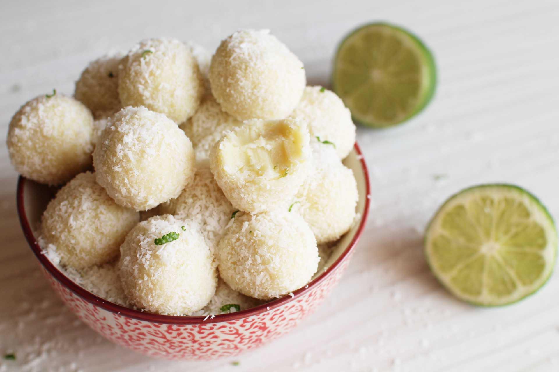 truffes coco citron gingembre herme