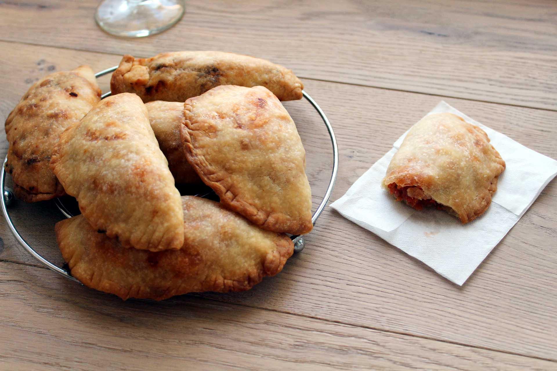 empanadillas poivrons thon toamtes