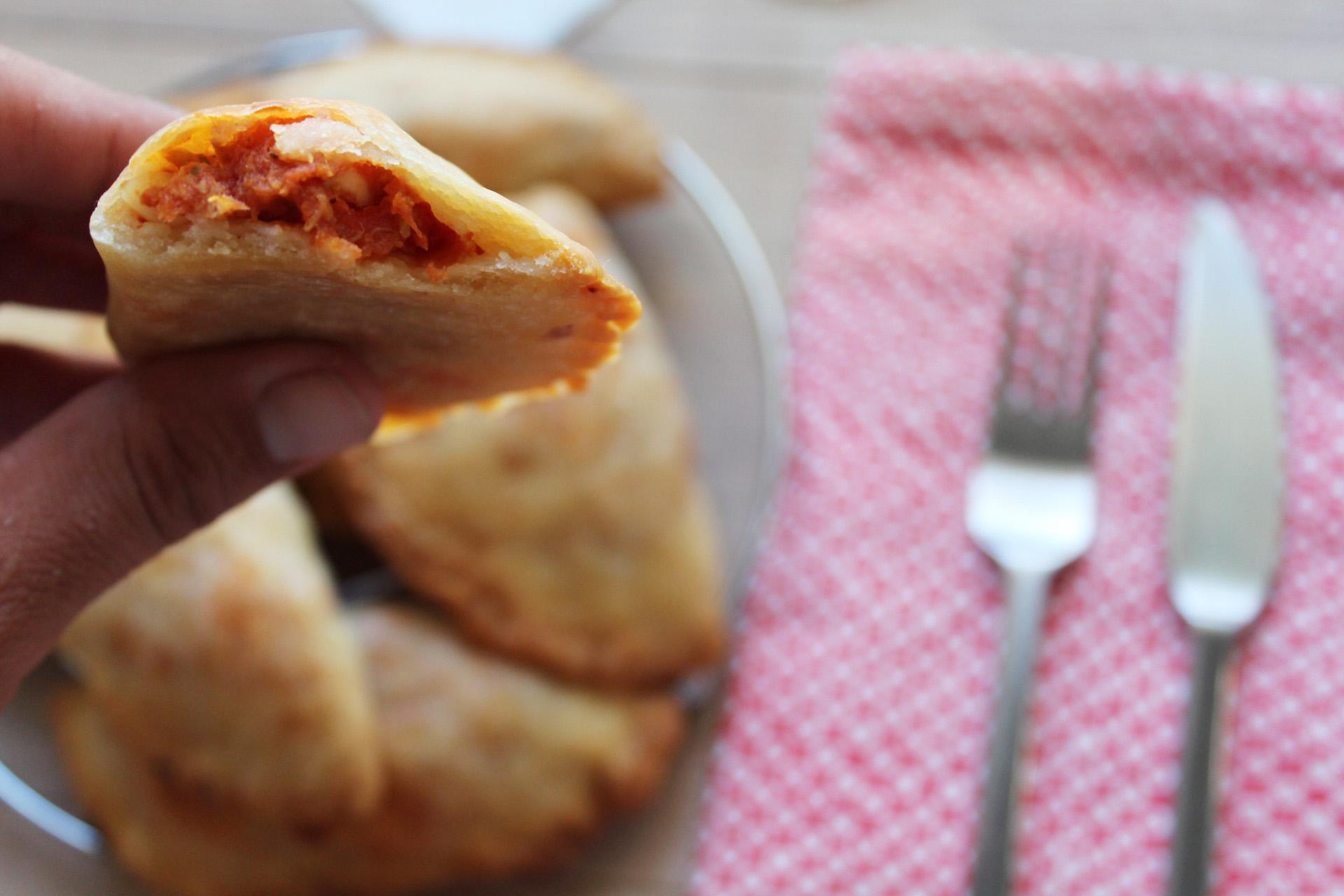 empanadillas tomates