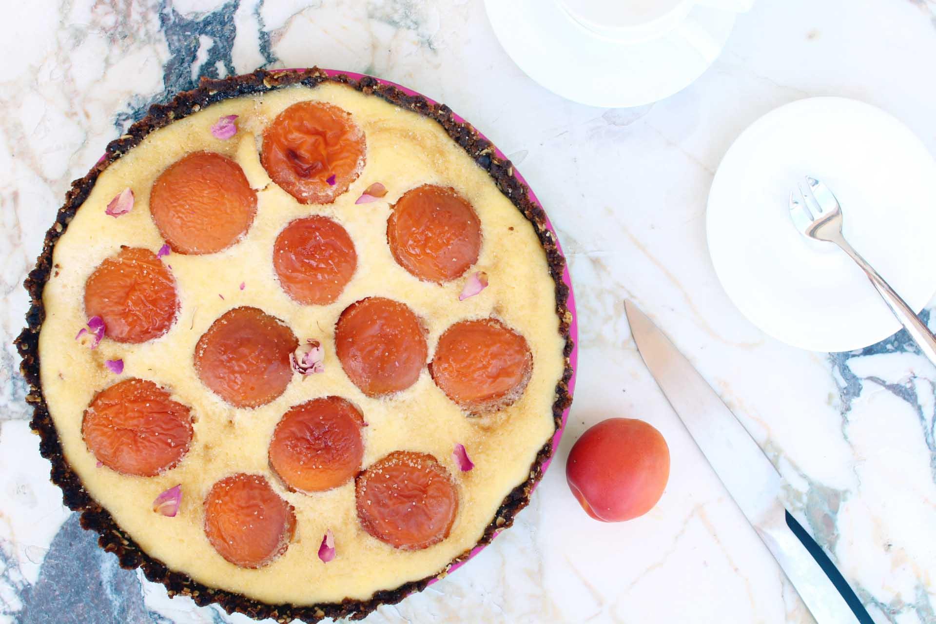 tarte abricots ricotta