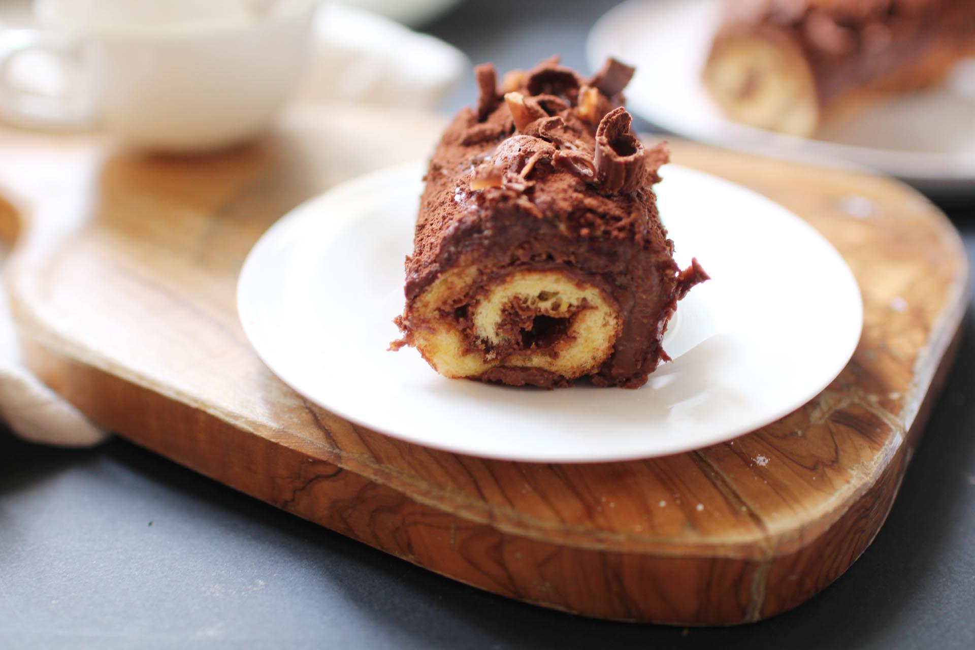 roule nutella pate tartiner chocolat