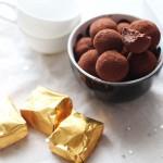 Truffes au chocolat et aux marrons