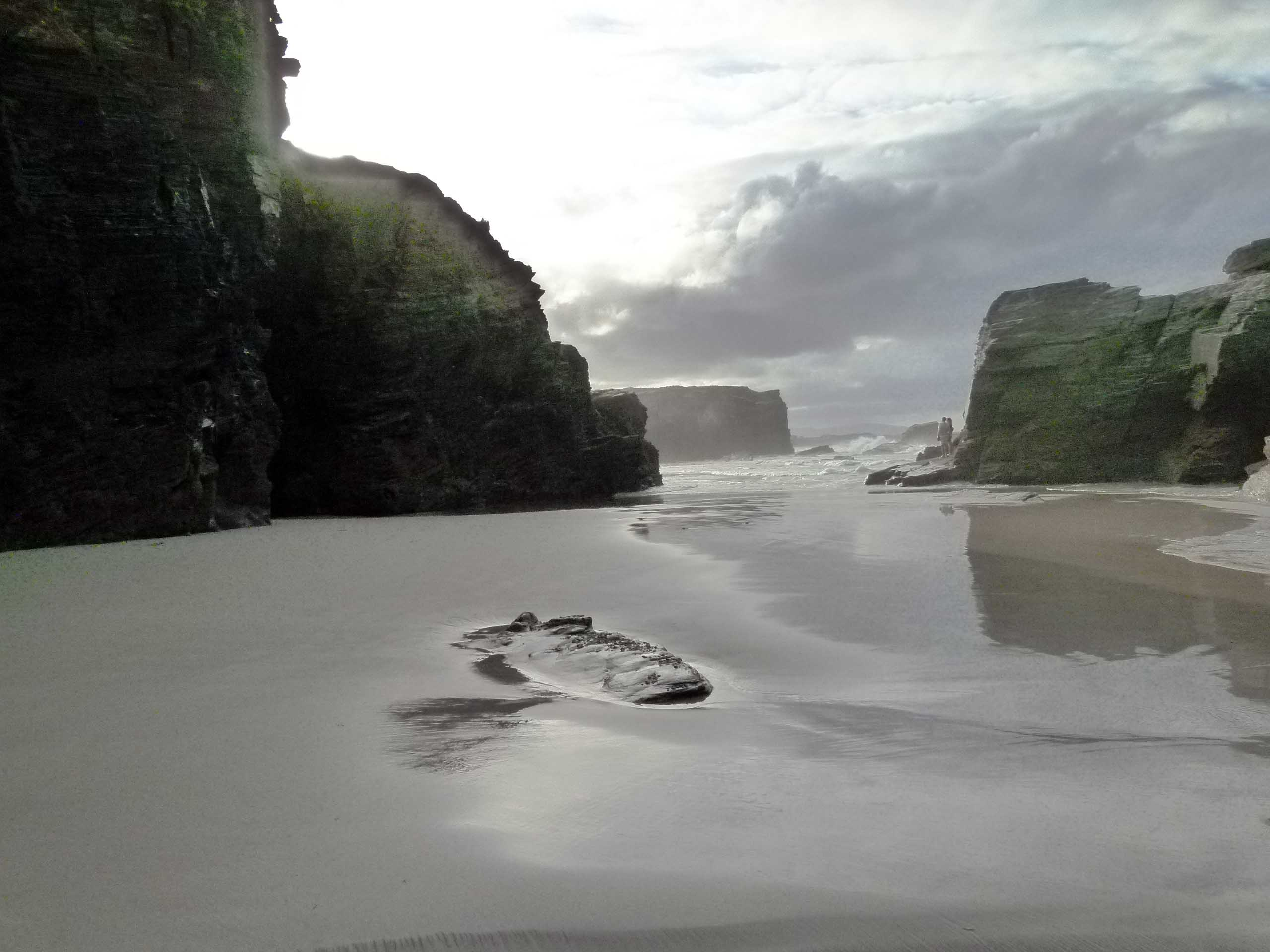 playa catedrales