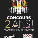 Concours : Gagnez un Blender pour nos deux ans, avec Cookishop !