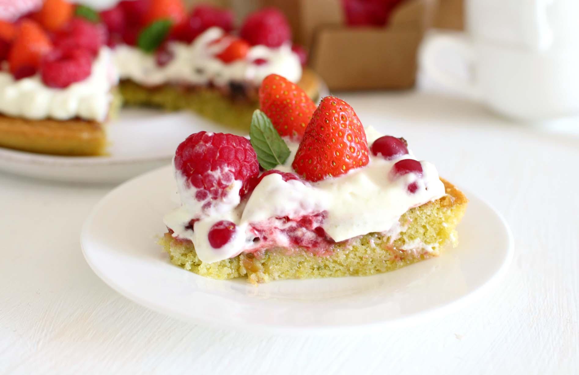 fantastik fraises pistache michalak