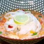 Soupe Thaï au curry rouge