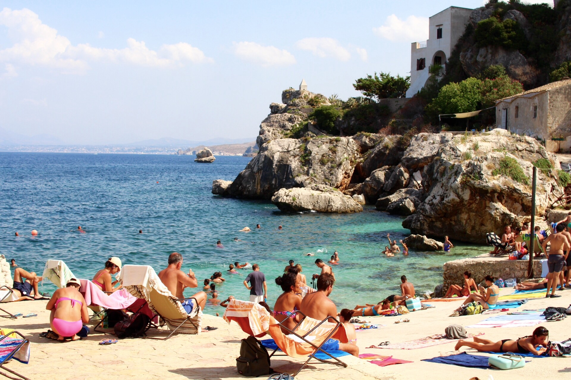 plage de scopello
