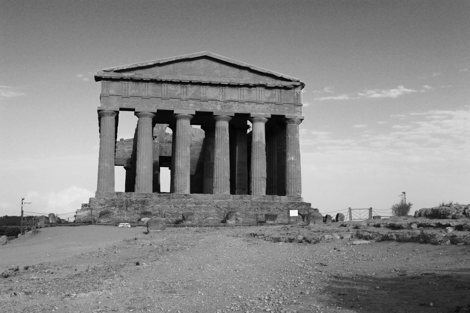 vallée des temples sicile - Agrigente