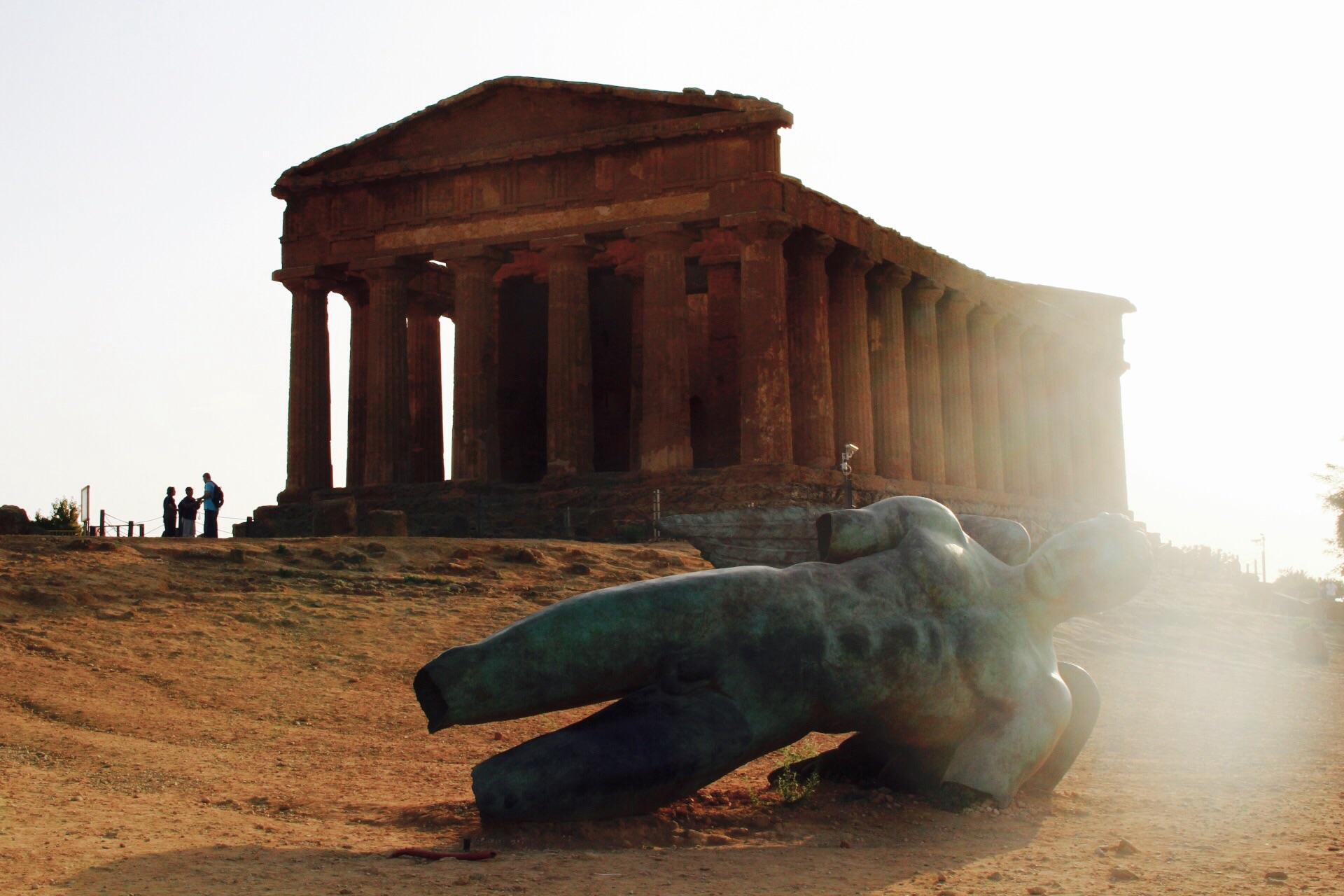 La vallée des temples sicile