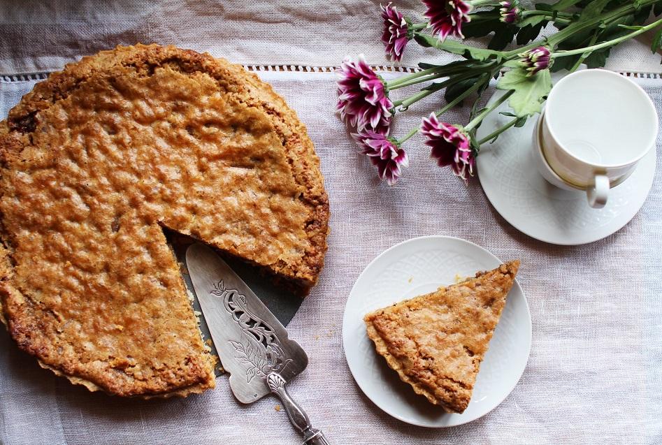 recette cookie pie chocolat noix