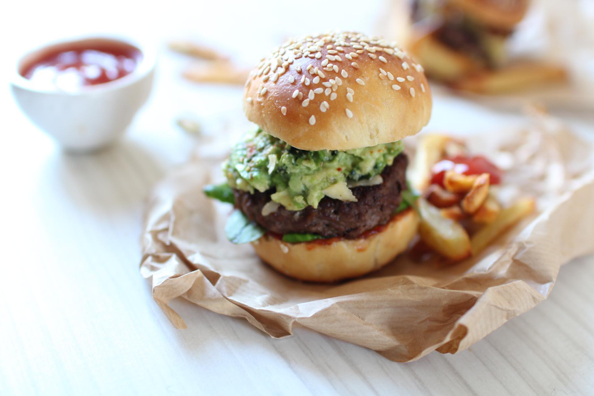 burgers mexicains recette maison