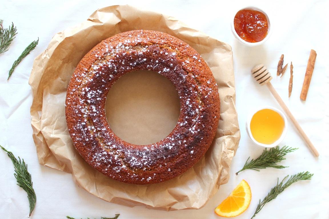 couronne pain epices orange felder