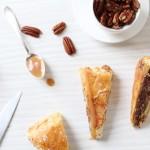 Galette des Rois pécan-vanille et pépites de caramel