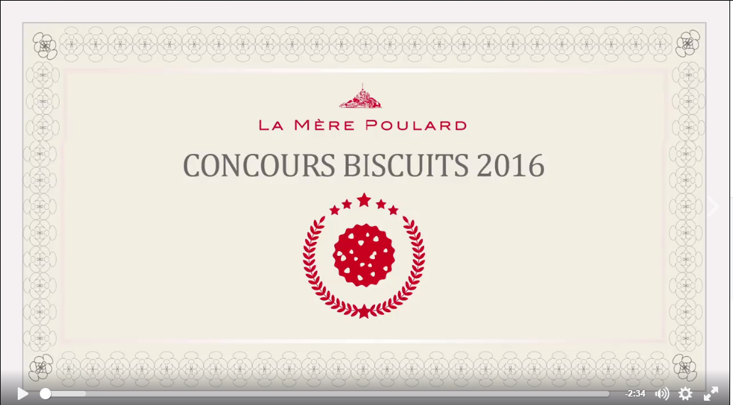 concours biscuits mère poulard