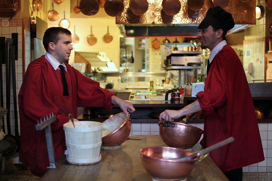 cuisine mere poulard preparation omelette