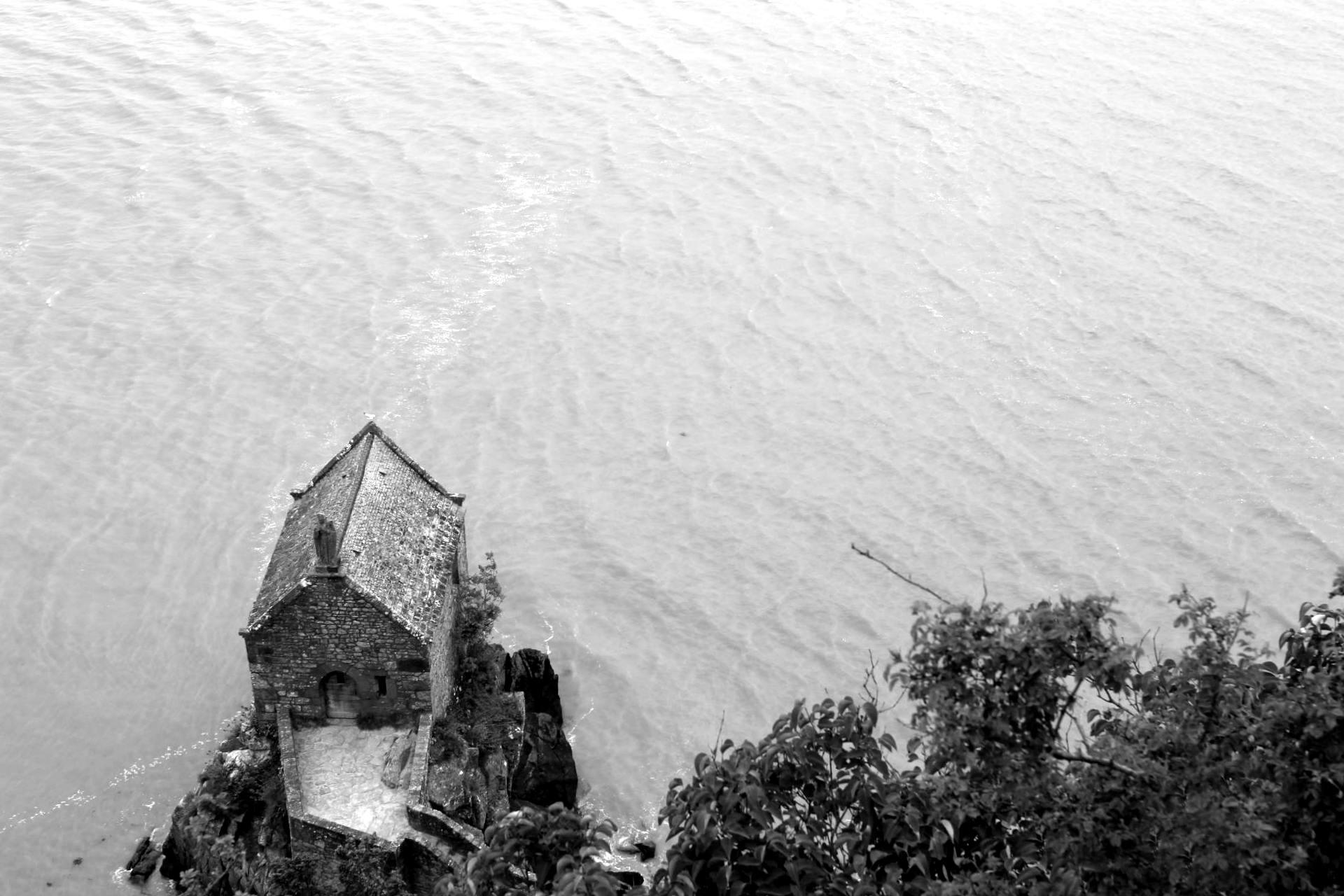 vue abbaye mont saint michel 3