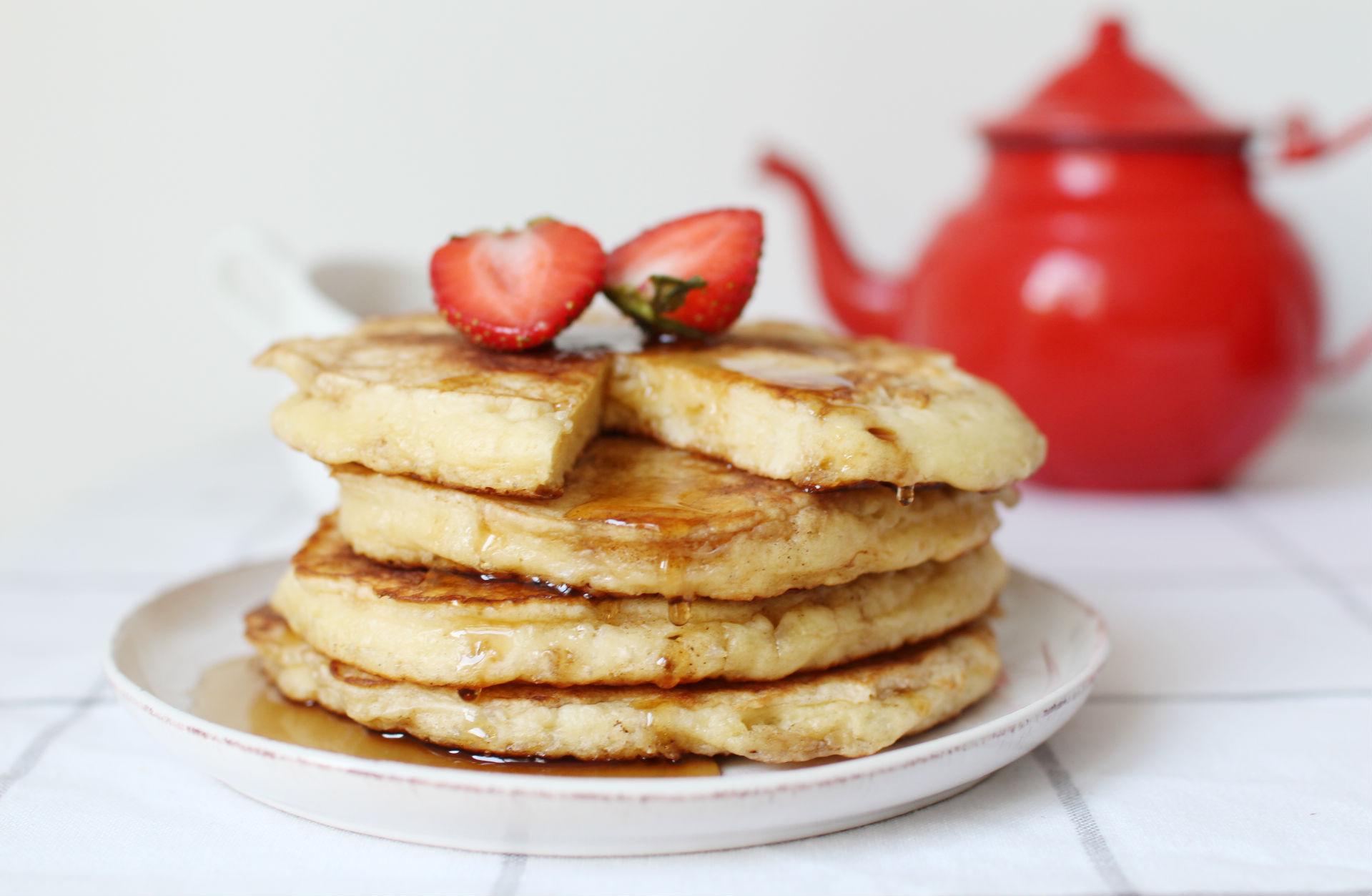 fluffy pancakes epais