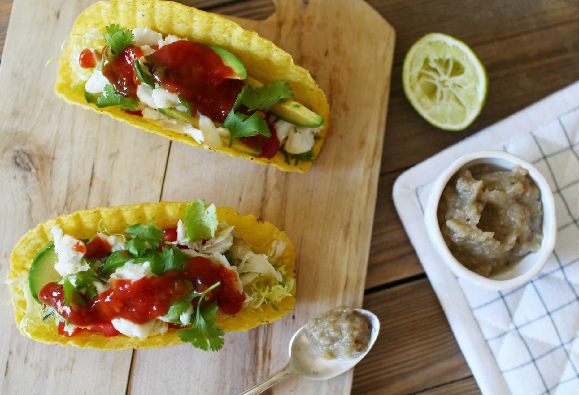 recette facile de tacos au poisson