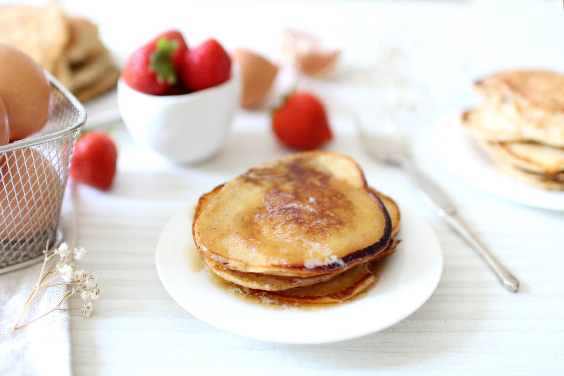 recette facile rapide pancakes