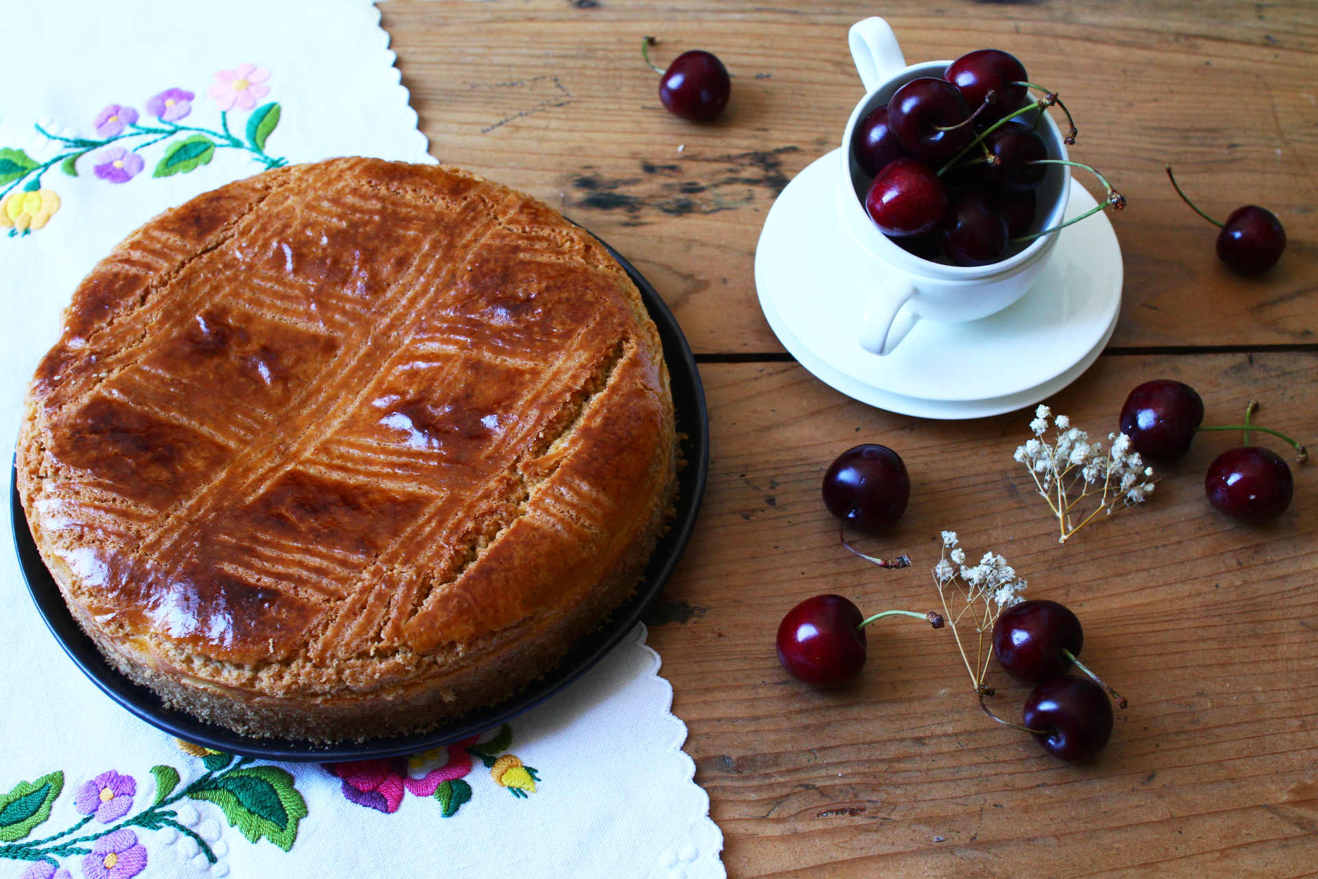 gateau basque cerise_