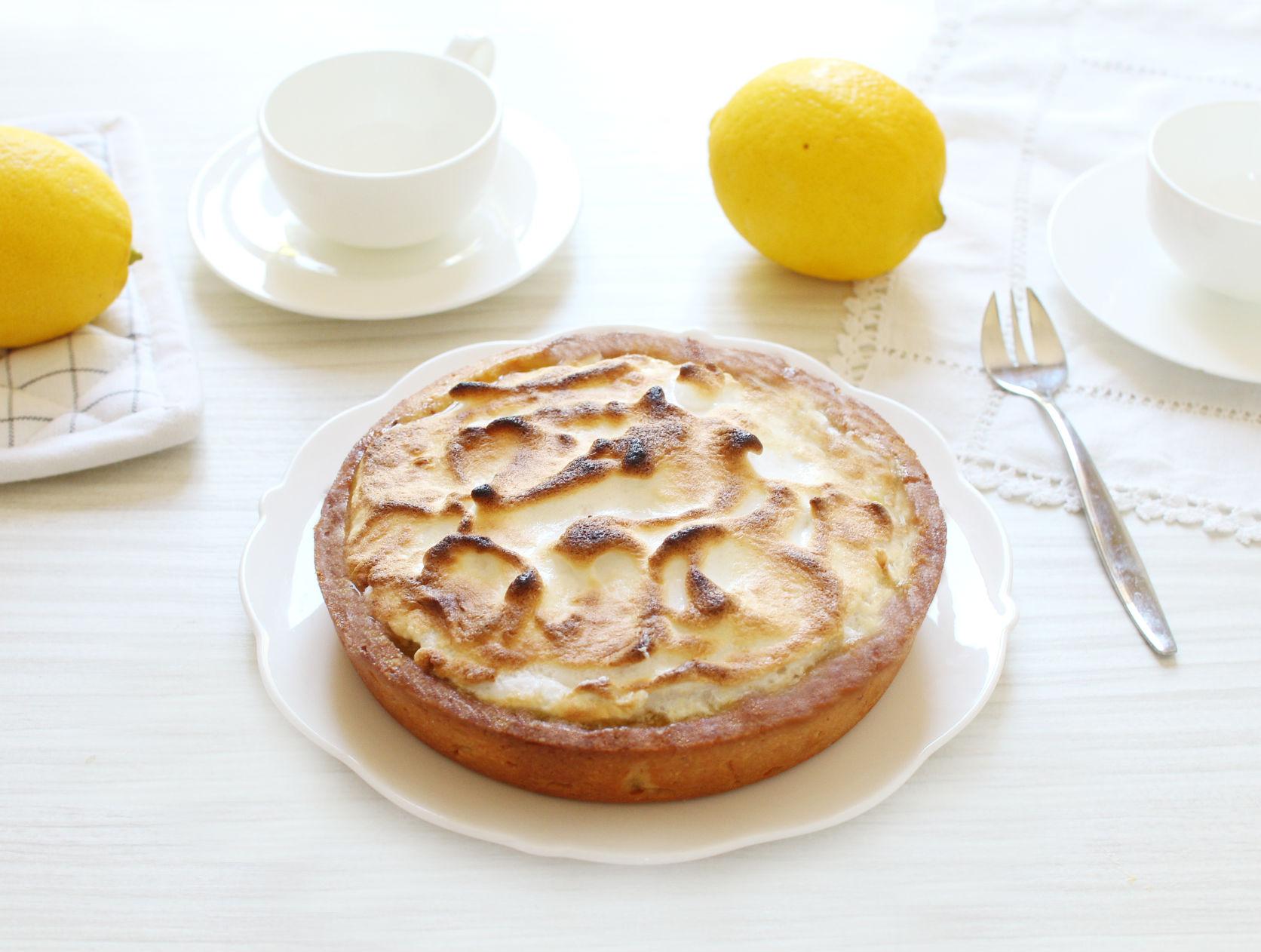 tarte citron meringue recette petite