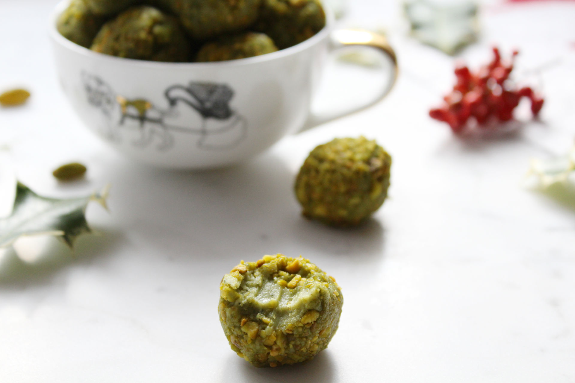 truffes-chocolat-noel-pistaches