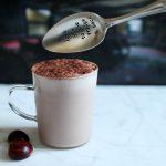Chocolat chaud à la crème de marron & concours l'Atelier du chocolat
