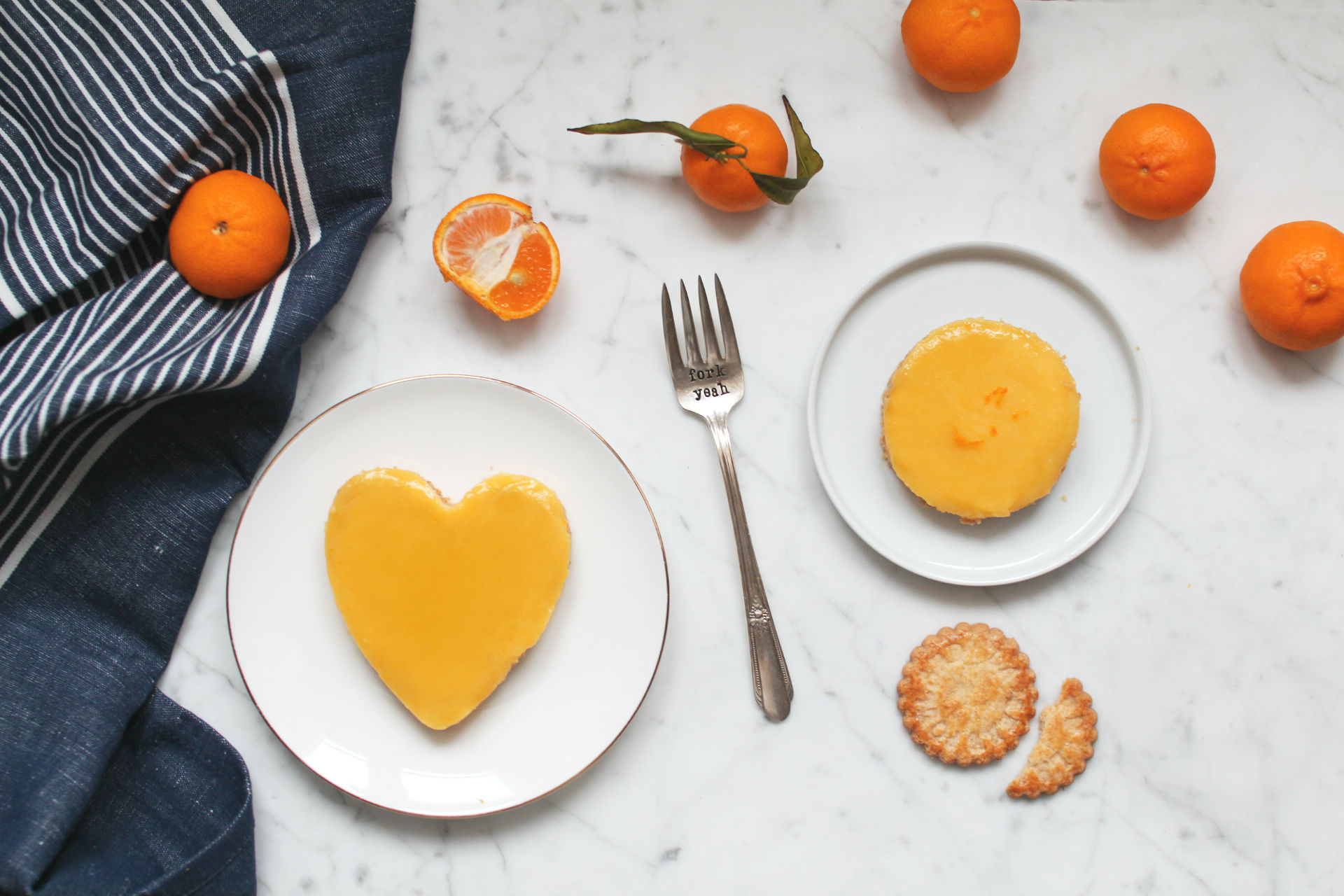 tartelettes mandarine recette facile curd biscuits poulard