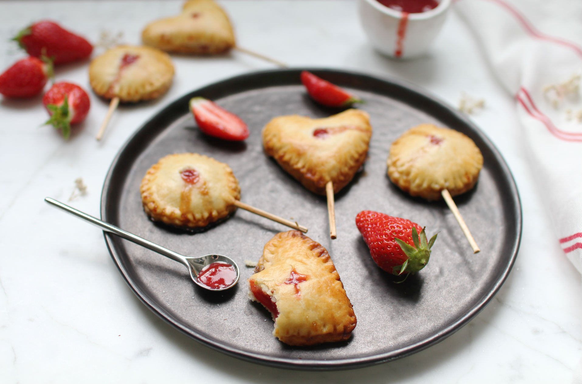 pie pops fraise recette royal chill blog