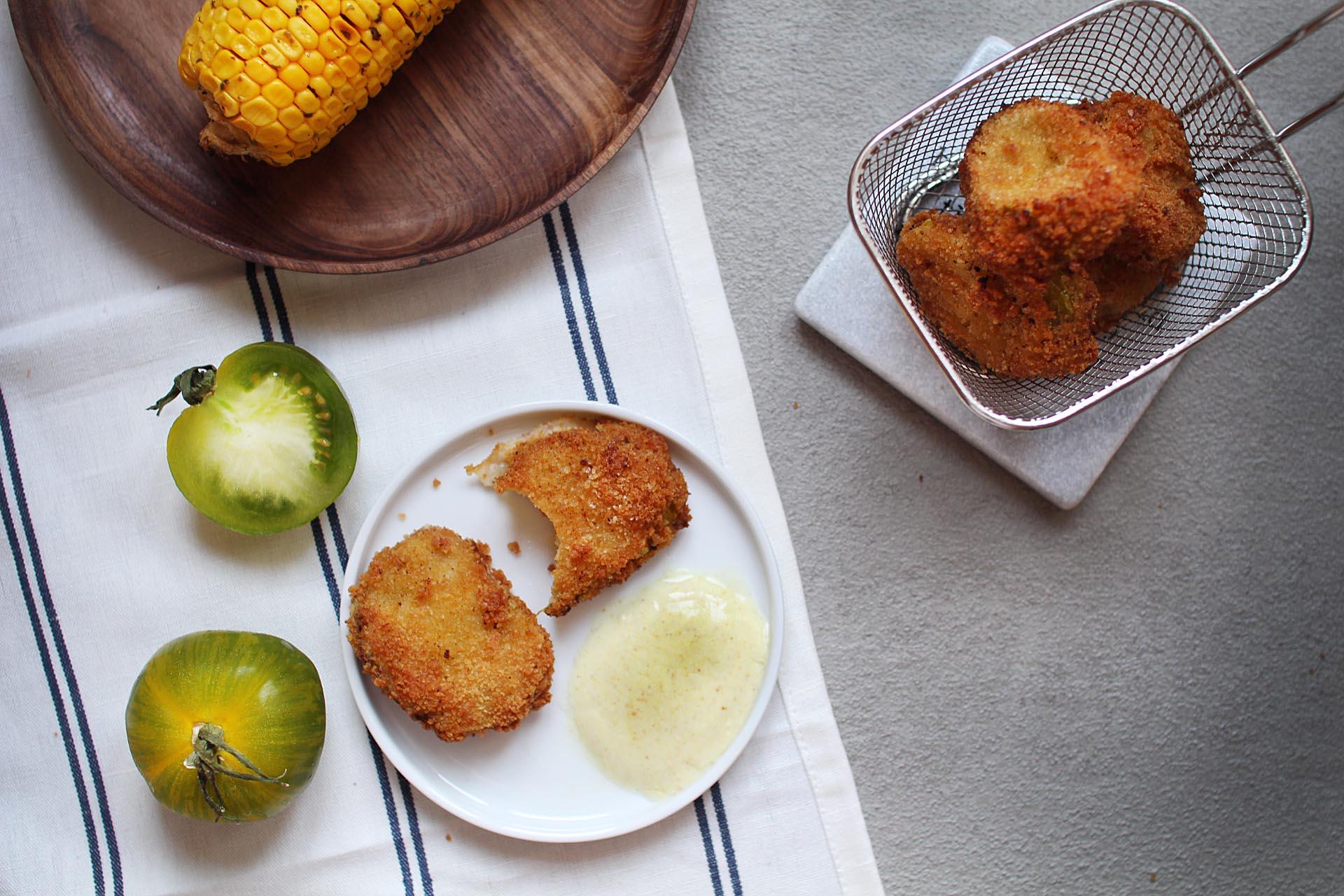 recette facile beignets tomates vertes blog cuisine royal chill
