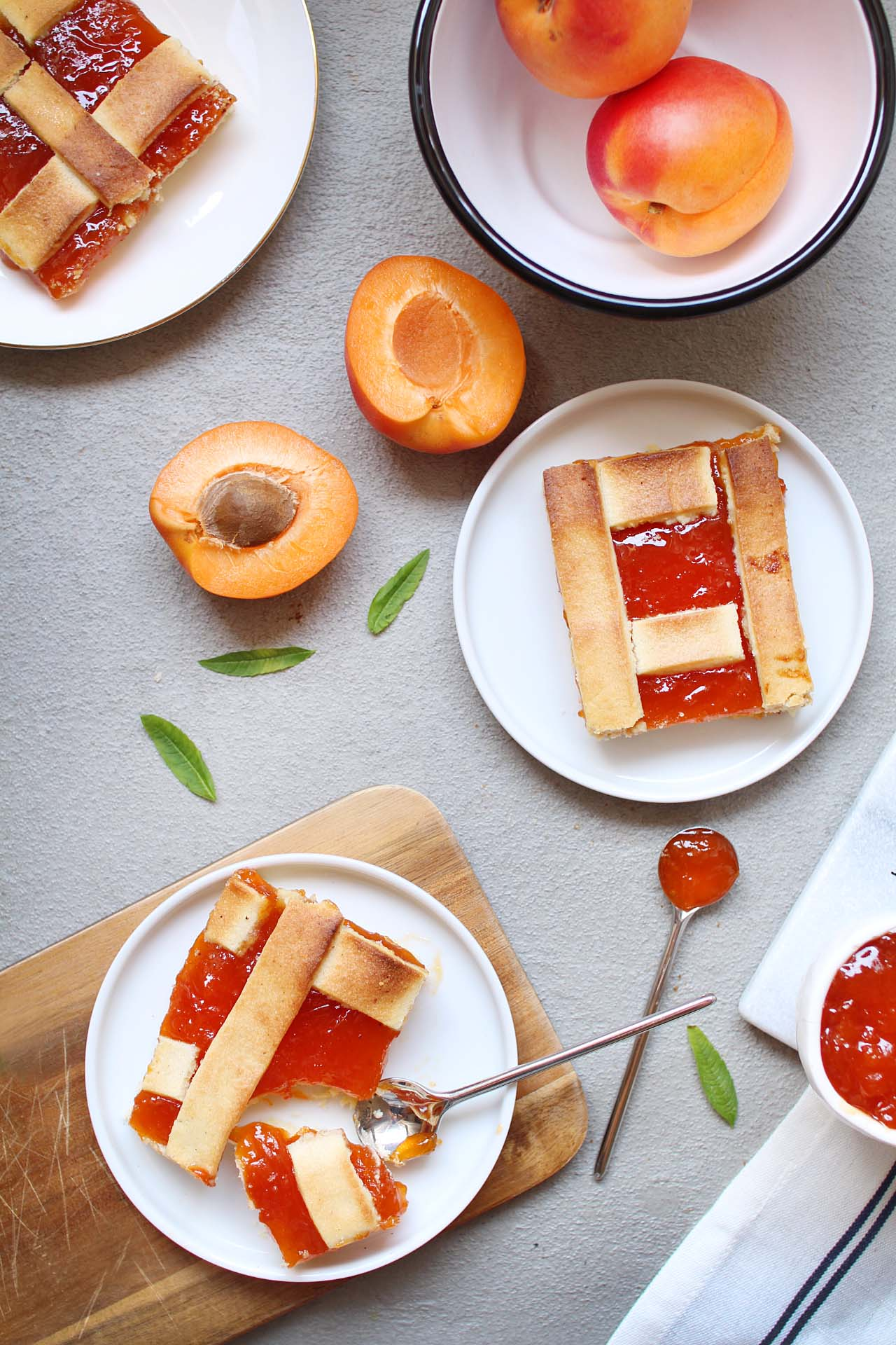 confiture abricot zeste citron