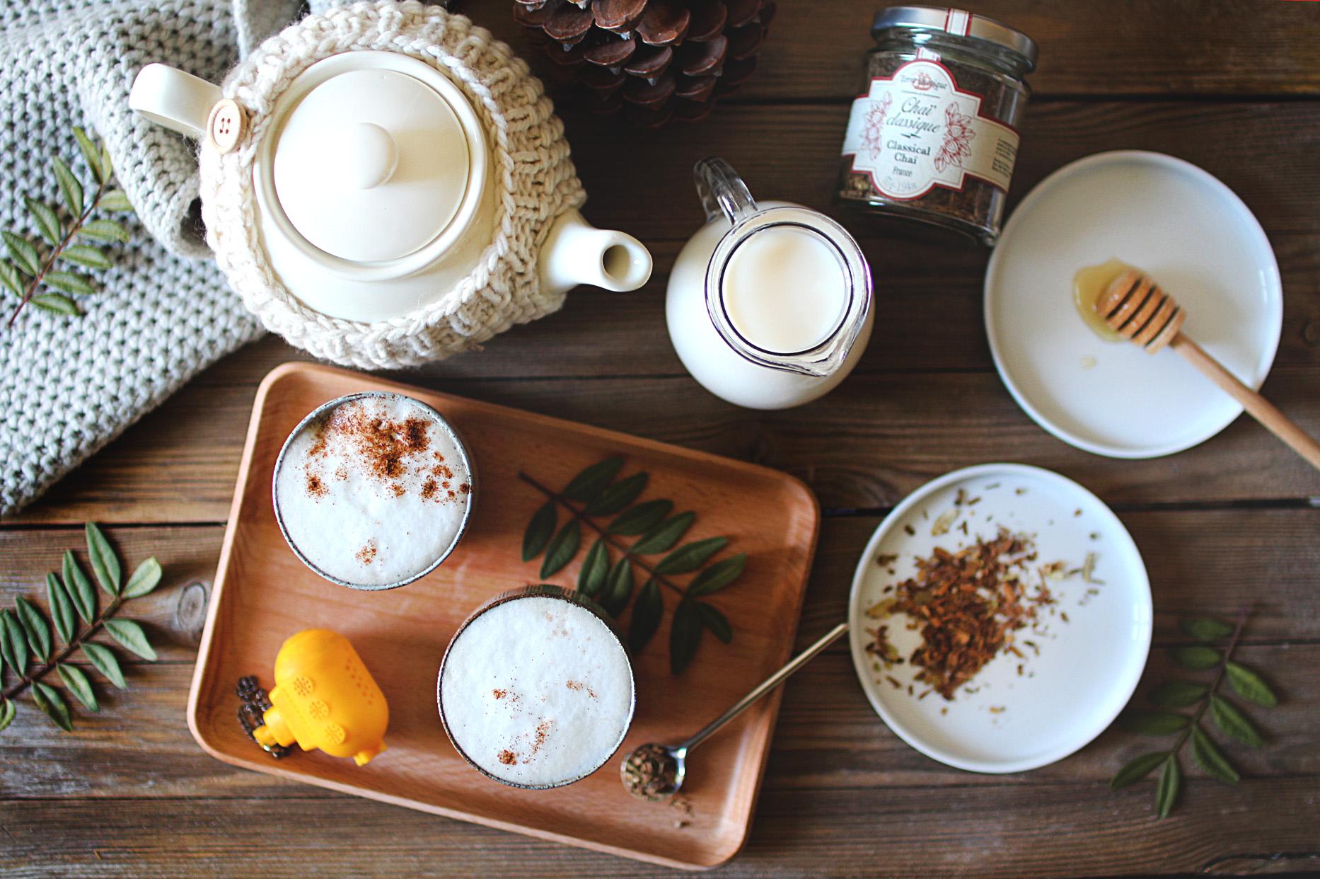 La recette du Chaï tea latte