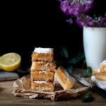La recette des carrés au citron [Lemon bars]