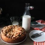 La tarte crumble aux prunes selon Martha Stewart