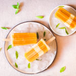 Bâtonnets glacés mangue – yaourt