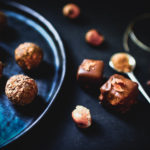 Chocolats pralinés feuilletés