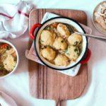 Chicken and Dumplings {soupe de poulet aux boulettes}