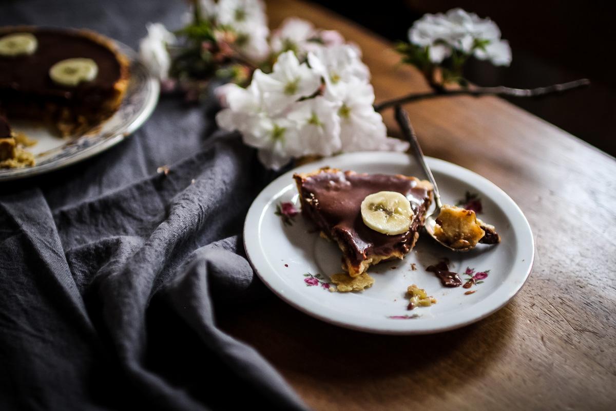 Tarte Facile Banane Chocolat Royal Chill Blog Cuisine Voyage Et Photographie